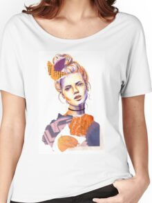 Tangerine Violet Women's Relaxed Fit T-Shirt