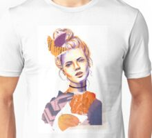 Tangerine Violet Unisex T-Shirt