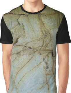 Textures of Gwithian Graphic T-Shirt