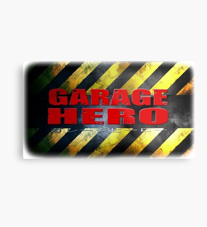Garage Hero Metal Print