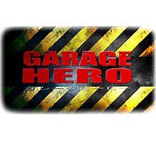 Garage Hero Photographic Print