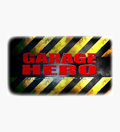 Garage Hero Photographic Print