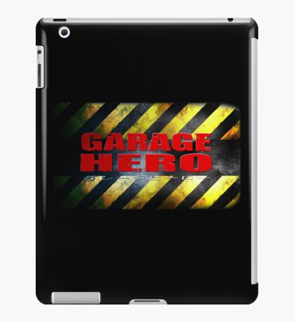 Garage Hero iPad Case/Skin