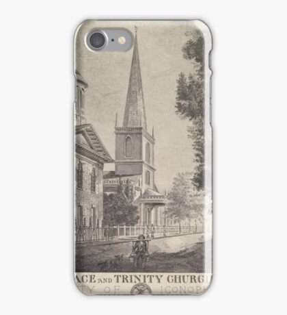 215 Grace and Trinity Churches iPhone Case/Skin