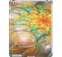 Swirling oil spill iPad Case/Skin