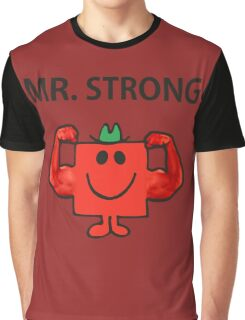 Mr Men Hit the Gym 'Mr Strong' Graphic T-Shirt