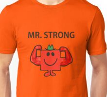 Mr Men Hit the Gym 'Mr Strong' Unisex T-Shirt