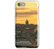 Sunset from The Crags in Edinburgh, Scotland iPhone Case/Skin