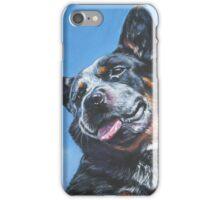 Australian Cattle Dog Fine Art Painting iPhone Case/Skin