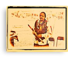 """""""American Native Indian from the Crow Nation, version 2""""... prints and products Metal Print"""