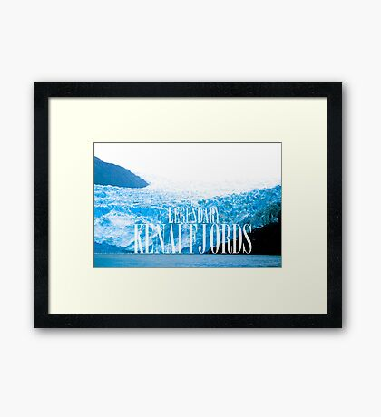 The Legendary Kenai Fjords Framed Print