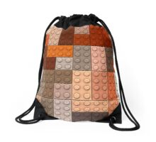 Lego bricks Drawstring Bag