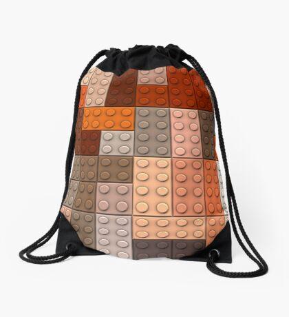 Lego bricks Drawstring Bag