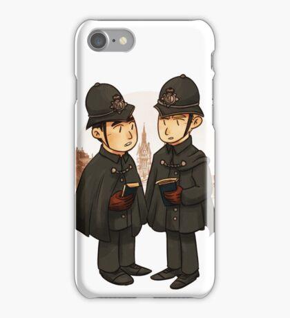 Victorian cops iPhone Case/Skin