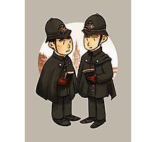 Victorian cops Photographic Print
