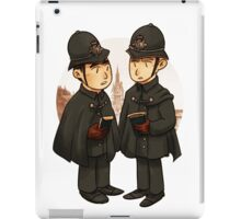 Victorian cops iPad Case/Skin