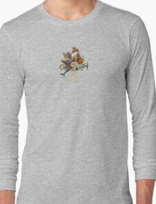 Blood Dolphin Crescendo Long Sleeve T-Shirt