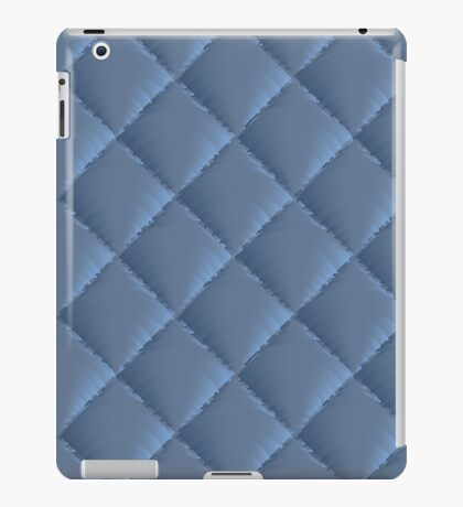 quilted fabric polyester fiber iPad Case/Skin