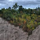Scarborough Bluffs at Canadian Thanksgiving by Jessica Dzupina