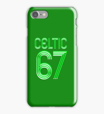 Celtic 67 iPhone Case/Skin