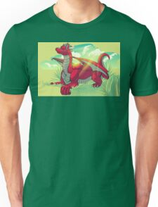 Relaxing Red Unisex T-Shirt