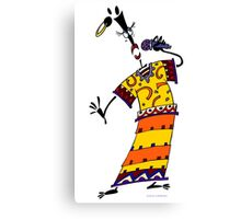 RAMAMABA - modern animation character !!! Canvas Print