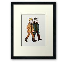 undead bfs Framed Print