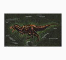 Tyrannosaurus Rex Skeleton Study One Piece - Long Sleeve