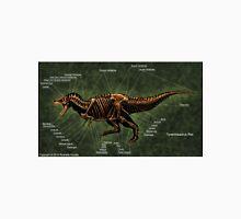Tyrannosaurus Rex Skeleton Study Unisex T-Shirt