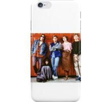 Breakfast Club iPhone Case/Skin