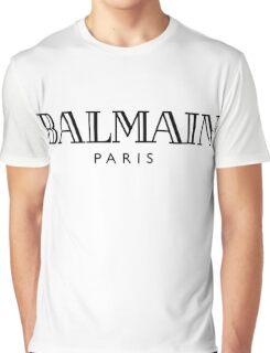Balmain white Graphic T-Shirt