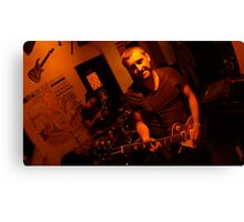 Goldilocks lead guitar Canvas Print