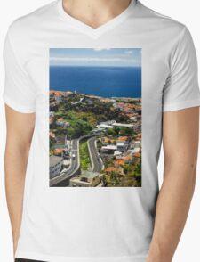 Citylife on an Island - Travel Photography Mens V-Neck T-Shirt