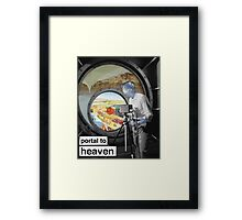 portal to heaven Framed Print