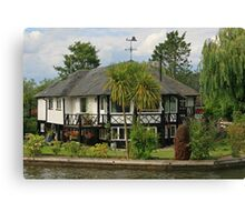 Home on the Broads Canvas Print