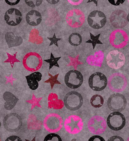 Grunge  hippie paper  Sticker