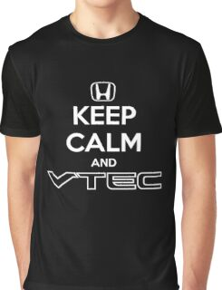 Keep Calm and VTEC Graphic T-Shirt