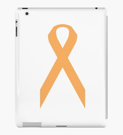 Appendix Cancer Awareness ribbon iPad Case/Skin