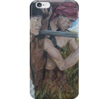 """The Myth  of Self"" acrylic on canvas iPhone Case/Skin"