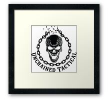 Unchained Tactical Framed Print