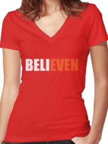 BELIEVEN - San Francisco Giants - Best T-Shirts Women's Fitted V-Neck T-Shirt