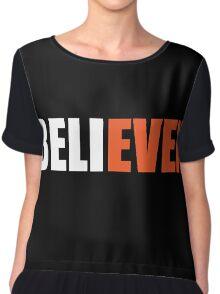 BELIEVEN - San Francisco Giants - Best T-Shirts Chiffon Top