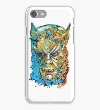 Curse of the Werewolf  iPhone Case/Skin