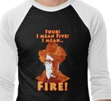 Four, Five, FIRE Men's Baseball ¾ T-Shirt