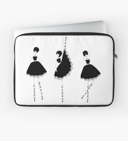 Ballerina dolls Laptop Sleeve