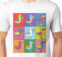 Pop Art Seagull Unisex T-Shirt