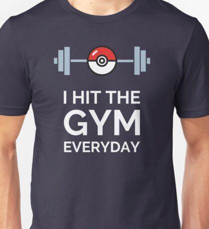Pokemon Go - I Hit The Gym Everyday Unisex T-Shirt