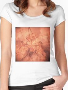 GRAPHIC ARCHITECTURE Women's Fitted Scoop T-Shirt