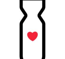 lovebomb Skate Co. Sticker