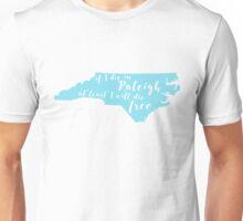 Wagon Wheel NC in Carolina Blue Unisex T-Shirt